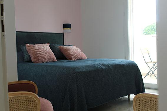 chambre d'hôtes les flamants roses villa maimona balaruc les bains