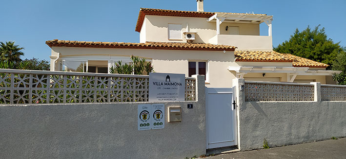 Villa Maimona Gîte de France
